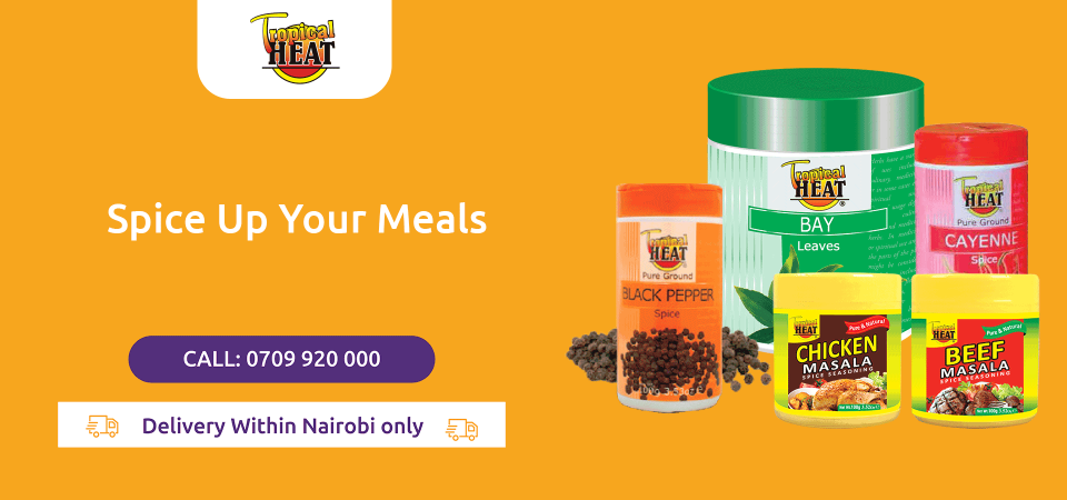 Tropical Heat spices are now available on Jambopay Market