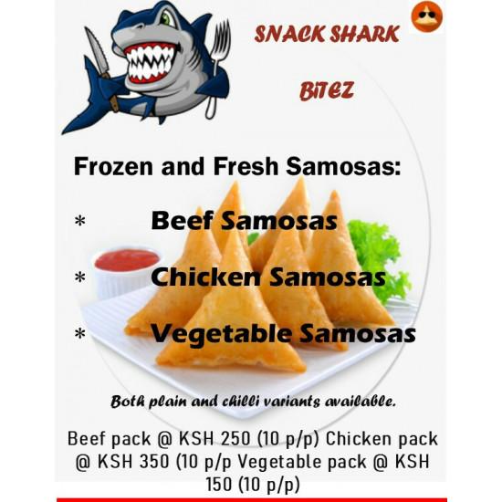 Pork Samosa Pack of 10