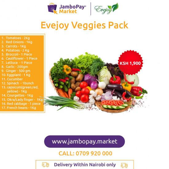Evejoy Veggies Pack