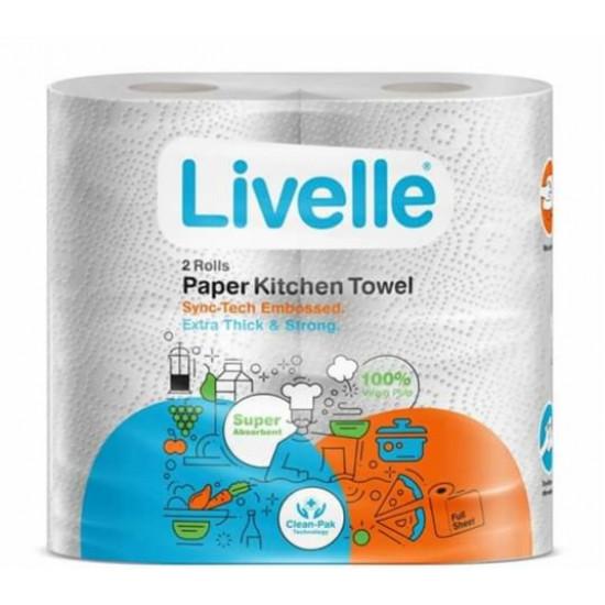 Livelle paper kitchen towel a bale(20 pieces)