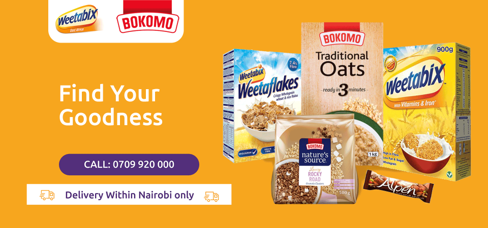 Find your goodness in Weetabix Cereals now on Jambopay Market